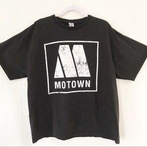 Vintage Motown Logo Short Sleeve Tee Size XL